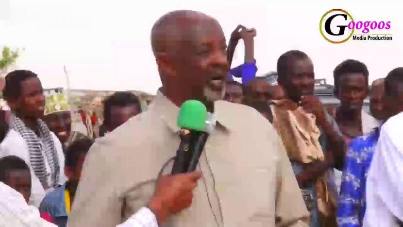 Daawo: Khudbadii Wasiirka Arrimaha Gudaha JSL Uu Dadweynha Reer FADHIGAAB U Jeediyey