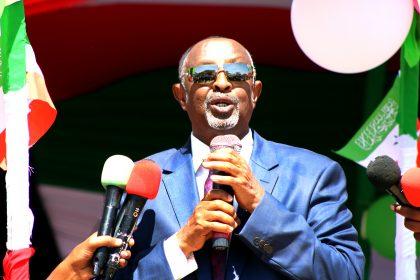 Daaho: Khudbadii Wasiirka Arrimaha Gudaha Somaliland Ka Yeediyey  Soo Dhaweyntii Madaxweynaha Ee Magaalada Burco