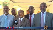 Daawo: Madaxweynaha dalka Djibouti Oo Qasriga Madaxtooyada Ku Qaabilay Wafti Ka Socday Somaliland Oo Uu Hogaaminayo Wasiirka Arrimaha Arrimaha Gudaha JSL